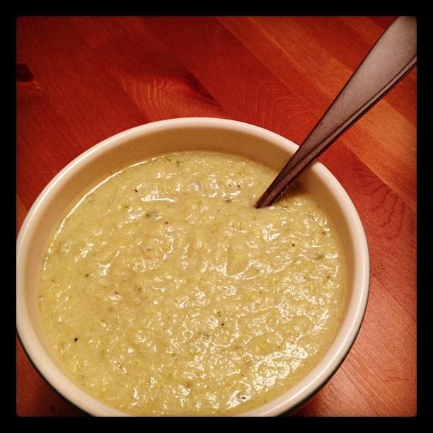 Creamy Corn & Leek Soup