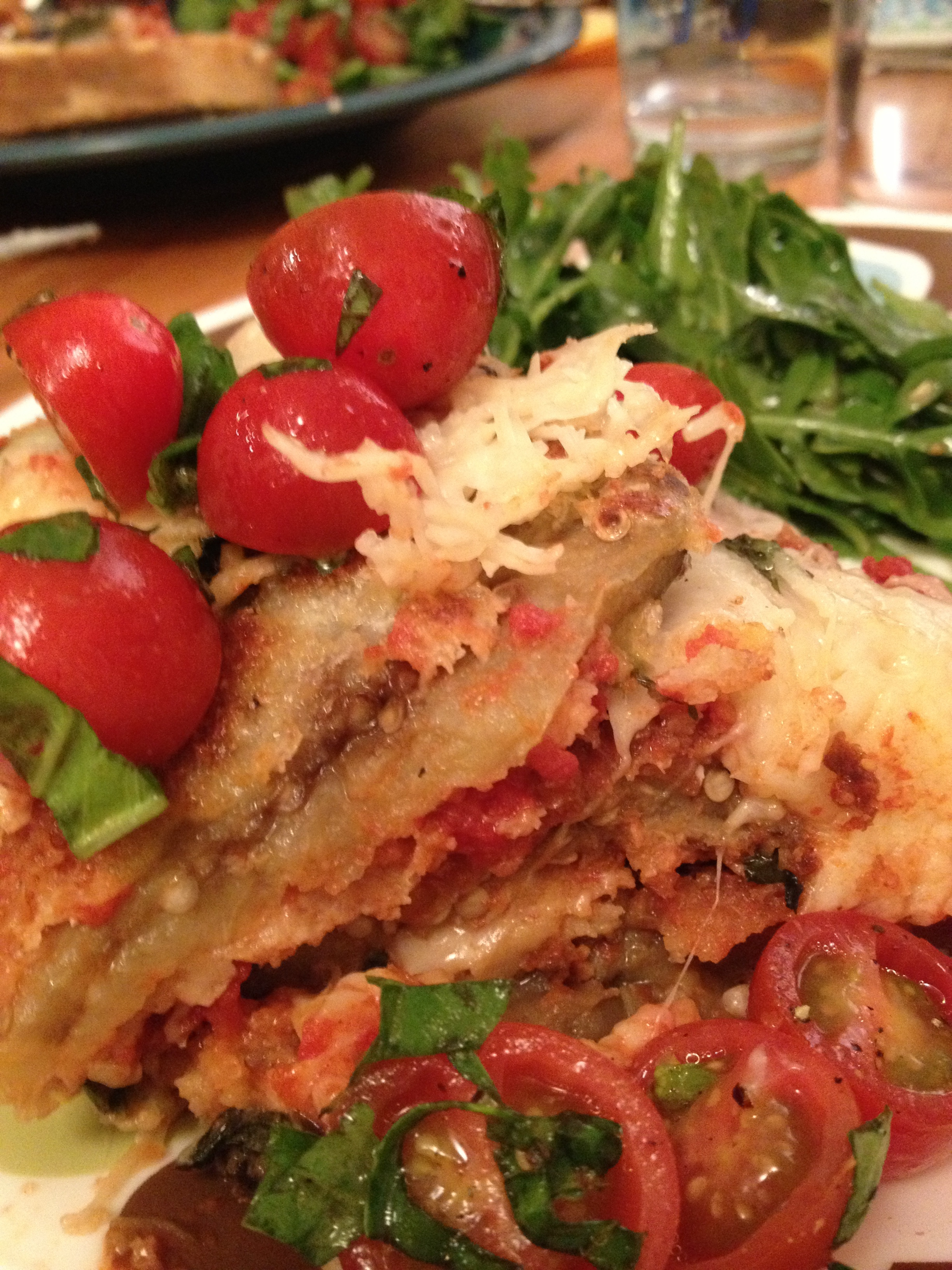 The Ultimate Eggplant Parmigiana | the little artichoke