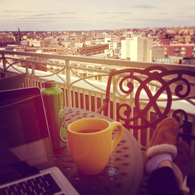 Rooftop Blogging