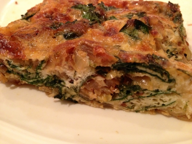 Sliced Frittata