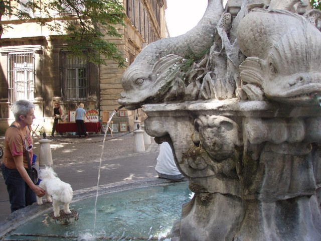 Provence fountains