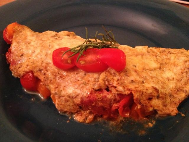 Tomato Herb Omelet
