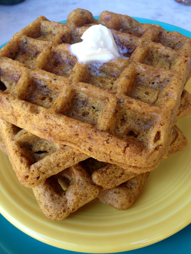 Browned Butter Waffles