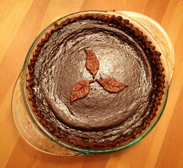 Bourbon Molasses Pumpkin Pie