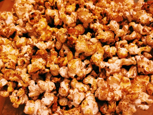 Spicy Chocolate kettle corn