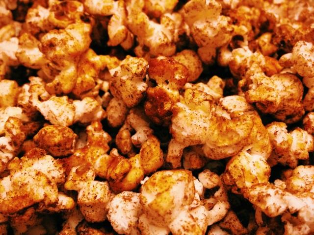 Mexican chocolate popcorn