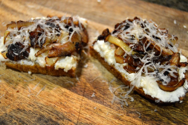 Caramelized Onion Tartine