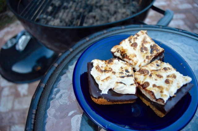 coffee s'mores bars